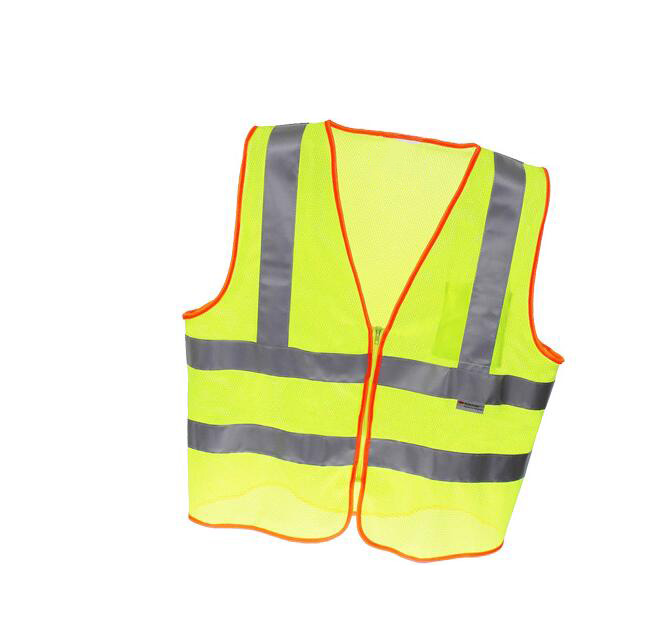 Safety Vest Traffic Fluorescent Light/ Mesh Vest Workplace Safety Supplies